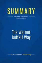 Summary: The Warren Buffett Way: Review and Analysis of Hagstrom's Book