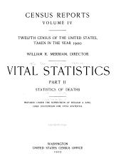 Census Reports: Vital Statistics