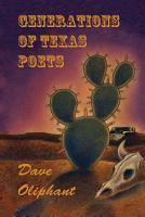 Generations of Texas Poets PDF
