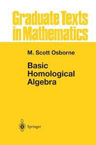 Basic Homological Algebra PDF