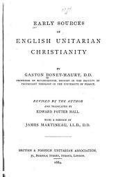 Early Sources of English Unitarian Christianity