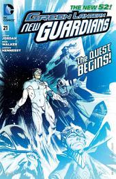 Green Lantern: New Guardians (2011-) #21