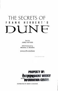 The Secrets of Frank Herbert s Dune PDF