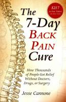 The 7 Day Back Pain Cure PDF