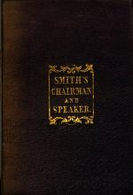 The chairman and speaker's guide