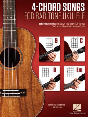 4 Chord Songs for Baritone Ukulele  G C D Em  PDF