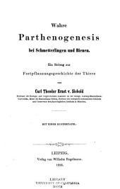 Wahre Parthenogenesis bei Schmetterlingen und Bienen ...