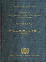 Protein Folding and Drug Design PDF