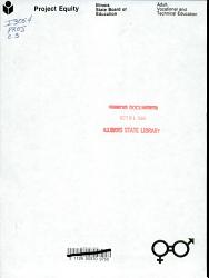 Project Equity     Whose Progress  PDF