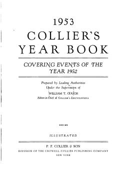 Collier s     Year Book Covering the Year     PDF