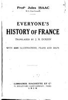 Everyone s History of France PDF