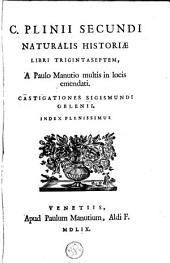 Naturalis historia libri XXXVII