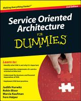Service Oriented Architecture  SOA  For Dummies PDF