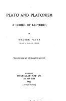 Plato and Platonism PDF