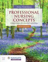 Professional Nursing Concepts  Competencies for Quality Leadership PDF