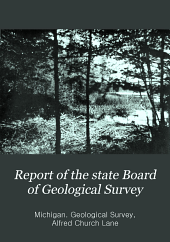 Report of the State Board of Geological Survey: Issue 8