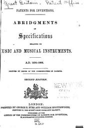 Patents for Inventions: Abridgments of Specifications Relating to Paints, Colours, and Varnishes : A.D. 1618-1866