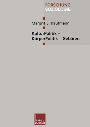 KulturPolitik     K  rperPolitik     Geb  ren PDF