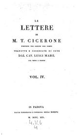 Lettere disposte per ordine dei tempi tradotte e corredate di note da Luigi. Mabil col testo a fronte: Volume 4