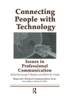 Connecting People with Technology PDF