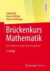 Brückenkurs Mathematik: für Studieneinsteiger aller Disziplinen, Ausgabe 4