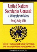 United Nations Secretaries General PDF
