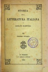Storia della letteratura italiana: Francesco Petrarca