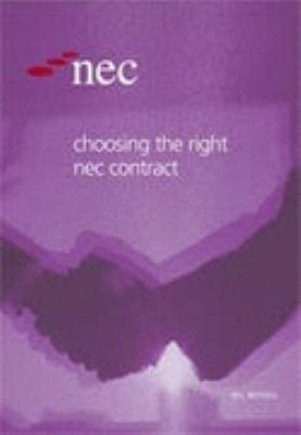 Choosing the Right NEC Contract PDF