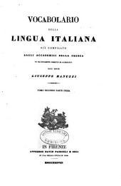 Vocabolario della lingua italiana: pt. 1. M-R