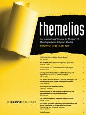 Themelios, Volume 41, Issue 1: Issue 1
