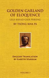 Golden Garland of Eloquence - Vol. 3