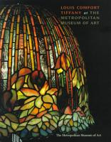 Louis Comfort Tiffany at the Metropolitan Museum PDF