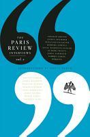 The Paris Review Interviews PDF