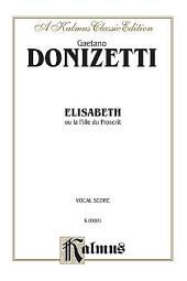 Elisabeth: Vocal (Opera) Score