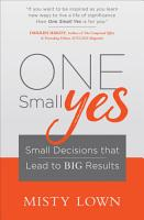 One Small Yes PDF