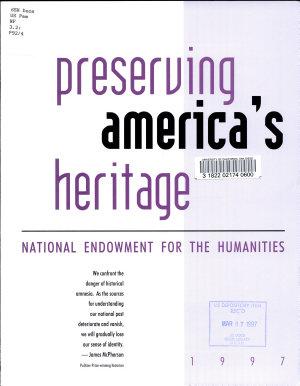 Preserving America s Heritage PDF