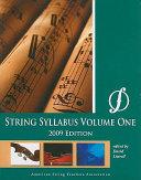 String Syllabus PDF