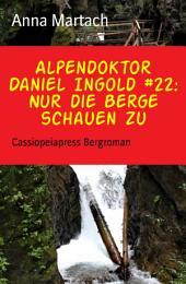 Alpendoktor Daniel Ingold #22: Nur die Berge schauen zu: Cassiopeiapress Bergroman