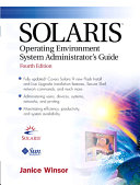 Solaris Operating Environment System Administrator's Guide