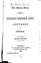 Keshub Chunder Sen's Lectures in India