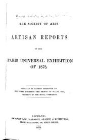 Artisan Reports on the Paris Universal Exhibition of 1878