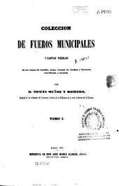 Colección de fueros municipales y cartas pueblas de los reinos de Castilla, León, Corona de Aragón y Navarra: Volumen 1