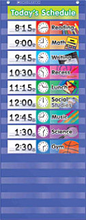 Daily Schedule Pocket Chart Book