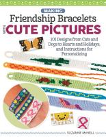 Making Friendship Bracelets with Cute Pictures PDF