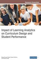 Impact of Learning Analytics on Curriculum Design and Student Performance PDF