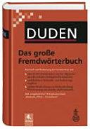 Duden  Das grosse Fremdw  rterbuch PDF