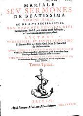 Rosarium Sermonum Per Quadragesimam Ac IN Omnibus Diebus, Ta'm Dominicis, Quam Festis Per Annum: Necnon De Unaquaq. Materia Praedicabilium, Volume 3