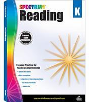 Spectrum Reading Workbook Grade K