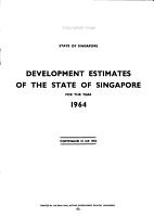 Development Estimates PDF
