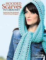 Hooded Scarves to Crochet PDF